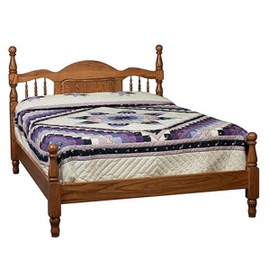 Panel Spindle Amish Bed