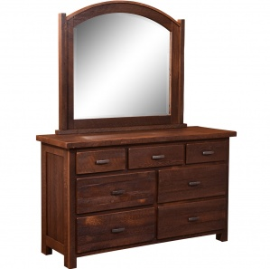 Quincy Amish Dresser with Mirror Option