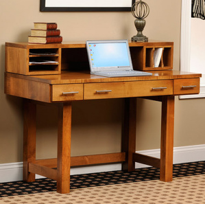 Urban Avenue Writing Amish Desk with Hutch Option