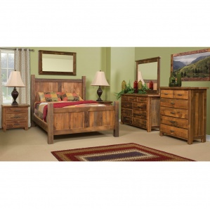 Farmhouse Amish Bedroom Set