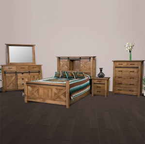 Glacier Amish Bedroom Set