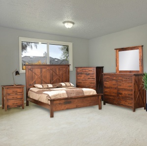 Calyxa Amish Bedroom Set