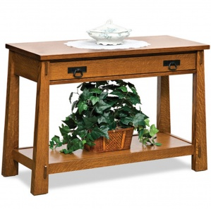 Mariposa Amish Sofa Table