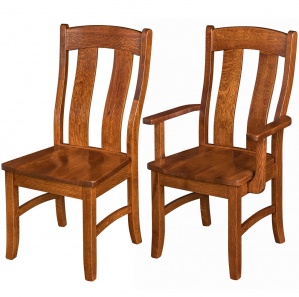 Waverly Amish Dining Chairs