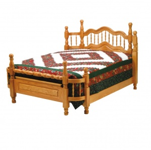 Wrap-Around Amish Bed