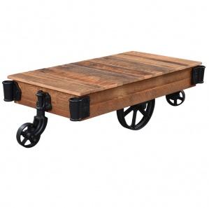 Urban Barnwood Railroad Amish Coffee Table