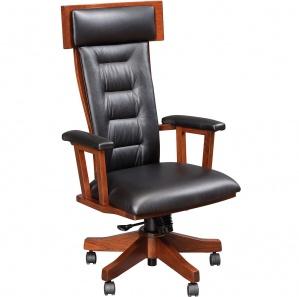 London Executive Amish Desk Chair
