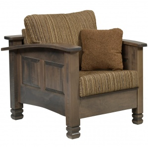 Burlington Amish Chair with Ottoman Option