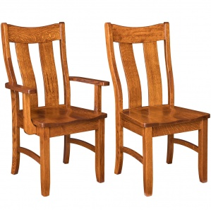Houston Amish Dining Chairs