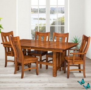 Houston Amish Dining Room Set