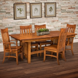 Estes Point Amish Dining Room Set