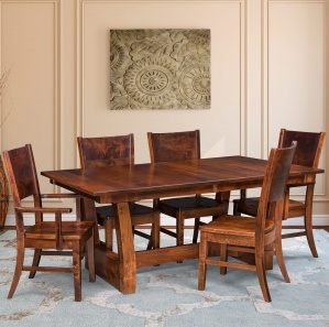 Awesome Ceresco Amish Dining Room Furniture Amish Furniture Home Interior And Landscaping Oversignezvosmurscom