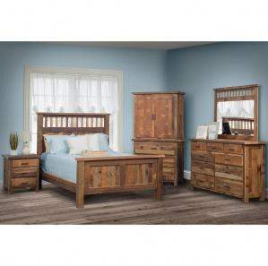 Stonefield Amish Bedroom Set