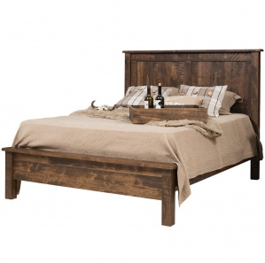 Mission Beds And Headboards Collection. Barn Floor Mission Amish Bed