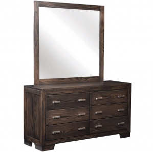 London Amish Dresser with Mirror Option