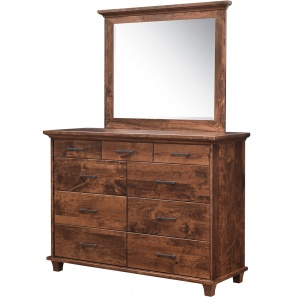 Sabine Amish Dresser with Mirror Option