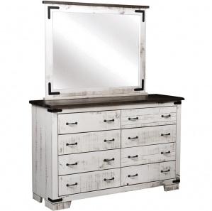Avenue West Amish Dresser with Mirror Option