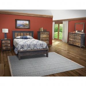 Reclaimed Barn Floor Amish Bedroom Set