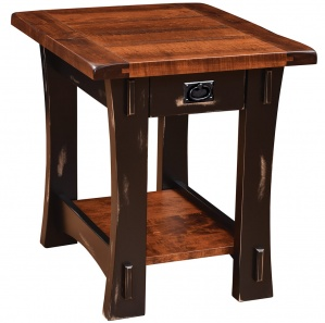 Old Tyme Amish End Table
