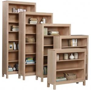 Vienna Amish Bookcase with Door Option