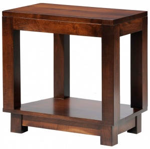 Urbana Amish Chairside Table