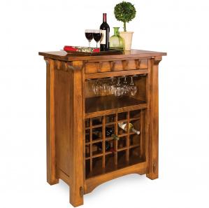 Manitoba Amish Wine Cabinet