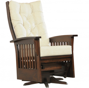 Westchester Deluxe Swivel Amish Glider