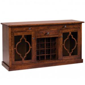 Bellamy Amish Wine Cabinet