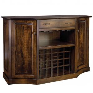 Kimberley Amish Wine Cabinet
