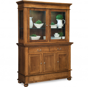 Newport Amish Buffet with Hutch Option