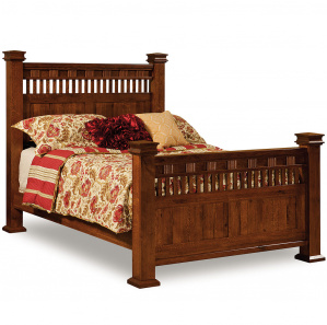 Sequoyah Quick Ship Amish Bed