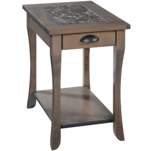 Regal Cambria Amish Chairside Table