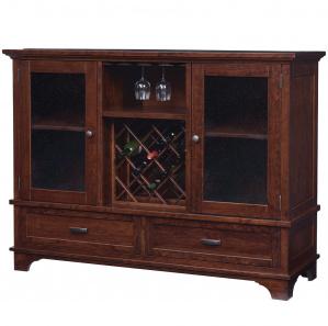 Ridgemont Amish Wine Cabinet