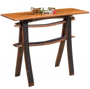 King's Inn Amish Sofa Table