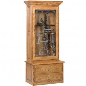 Fielder Amish Gun Cabinet