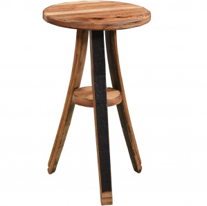 King's Inn Barrel Stave Amish Plant Stand