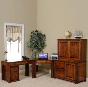 Arlington Modular Custom Amish Office Furniture Set