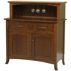 Riverview Amish Wine Cabinet