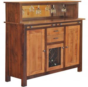 Serenity Garden Amish Wine Cabinet