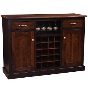 Richfield Amish Wine Cabinet