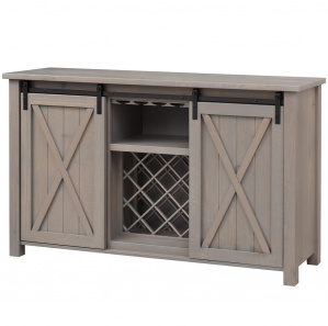 Lahoma Amish Wine Cabinet