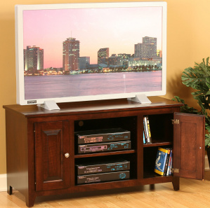 Linden Raised Panel Amish TV Cabinet