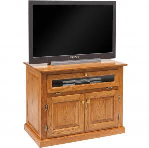 Seneca Amish TV Cabinet with Swivel Top Option