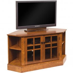 Corona Corner Amish TV Cabinet