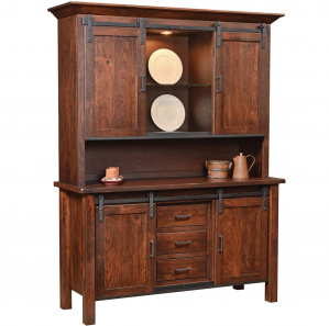 Brylen Buffet with Amish Hutch Option