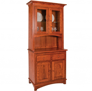 Riva 2 Door Buffet with Amish Hutch Option
