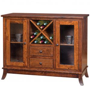 Covington Amish Wine Cabinet