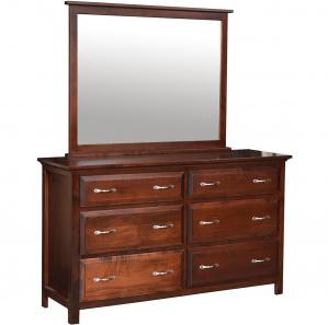 Sullivan Amish Dresser with Mirror Option