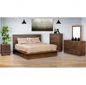 Hamilton Modern Rustic Bedroom Furniture Collection Cabinfield