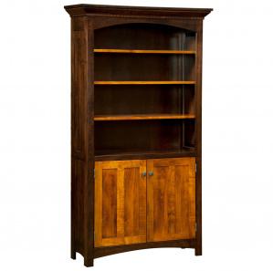 Lakewood Amish Bookcase Cabinet